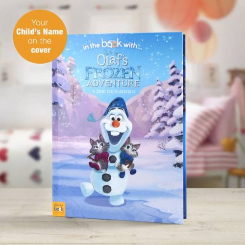 Disney Olaf's Frozen Adventure Story Book